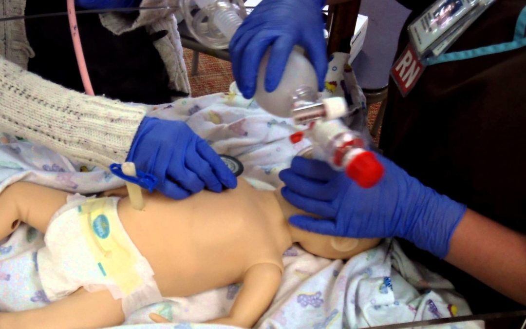 It's possible! Resuscitation with volume ventilation after delivery.